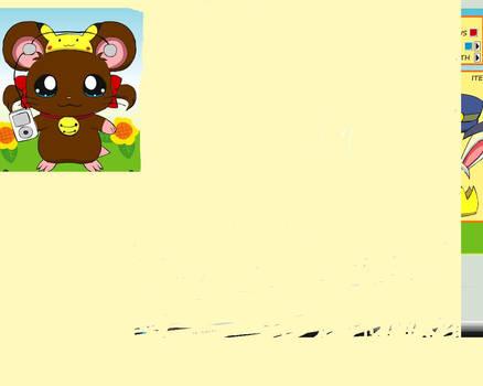 Me as a Hamster in Hamtaro