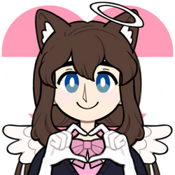 Me as an anime Cat Angel