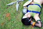 Yuffie Kisaragi | A little rest... by yukisaragi