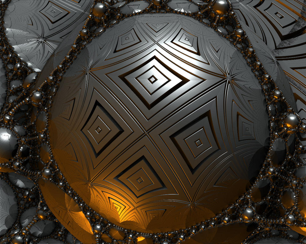 Silver Globe by GrahamSym