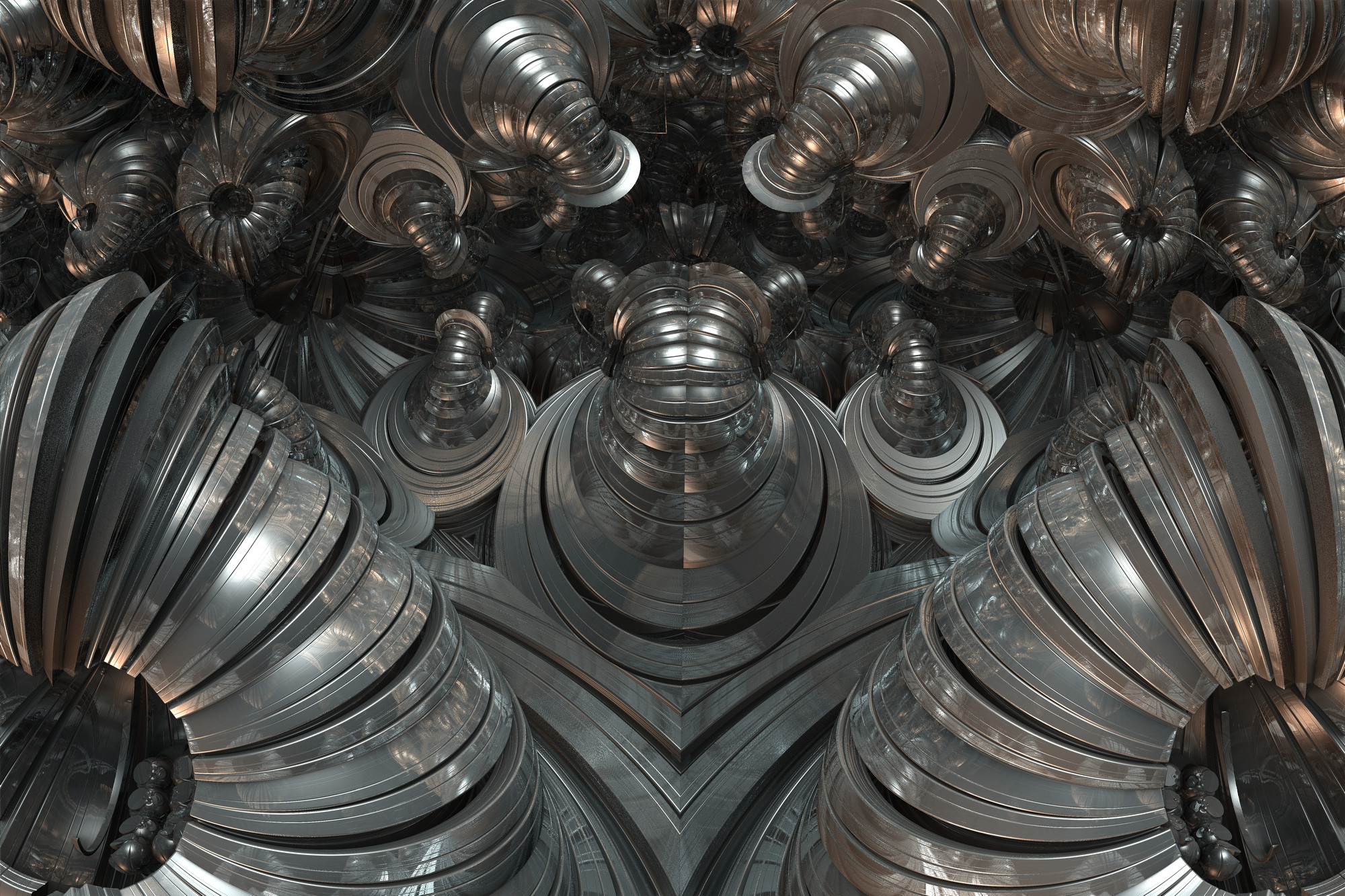 Chrome Snails by GrahamSym
