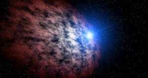 Starfield nebula