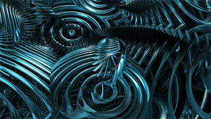 Metallic Swirl