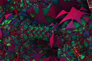 Chaotic Jigsaw Bulbs by GrahamSym
