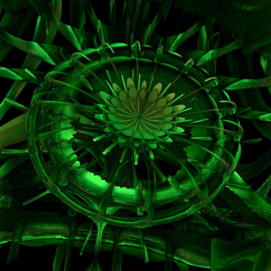 Green Manalishi by GrahamSym
