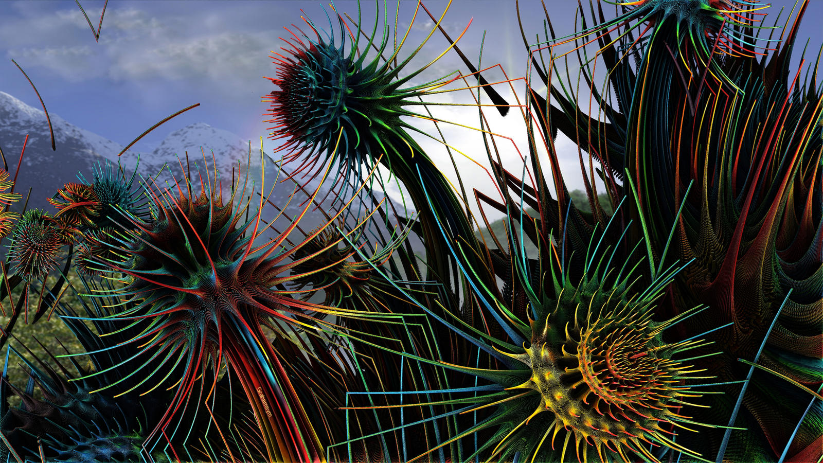 Weeds by GrahamSym