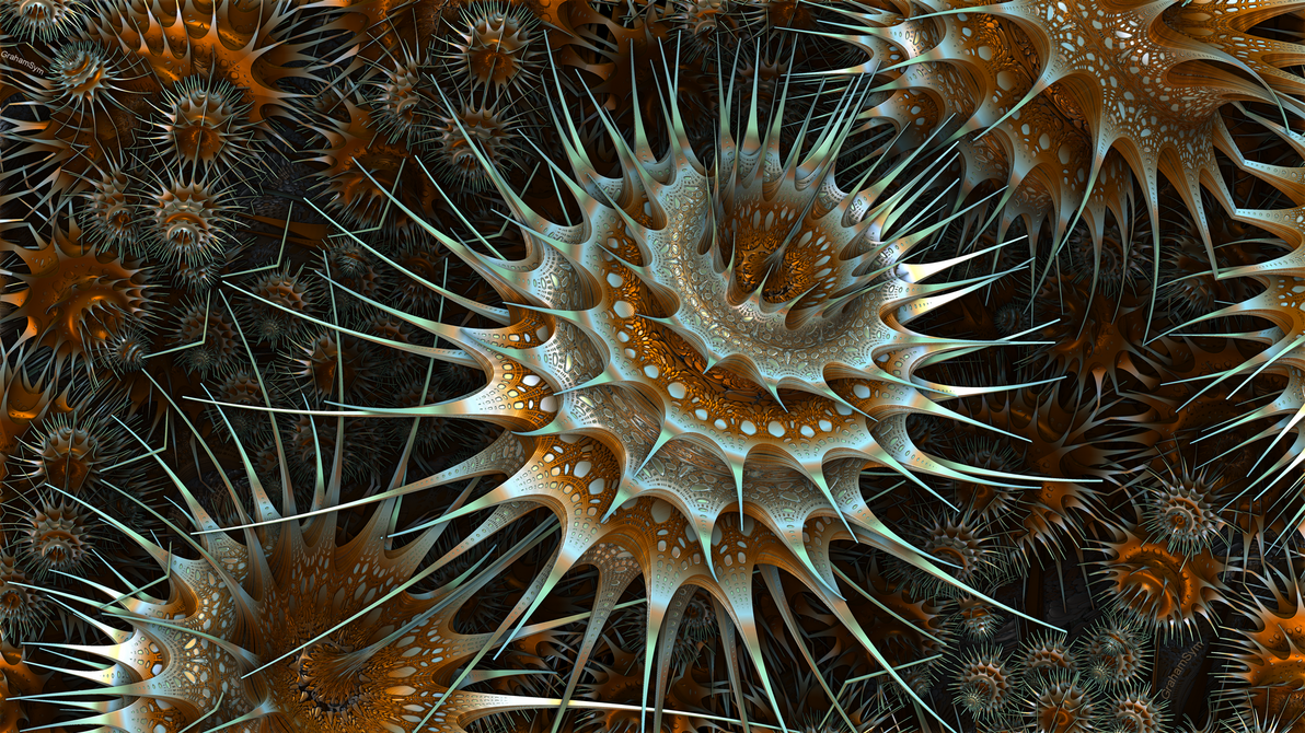 Spiny Clusters by GrahamSym
