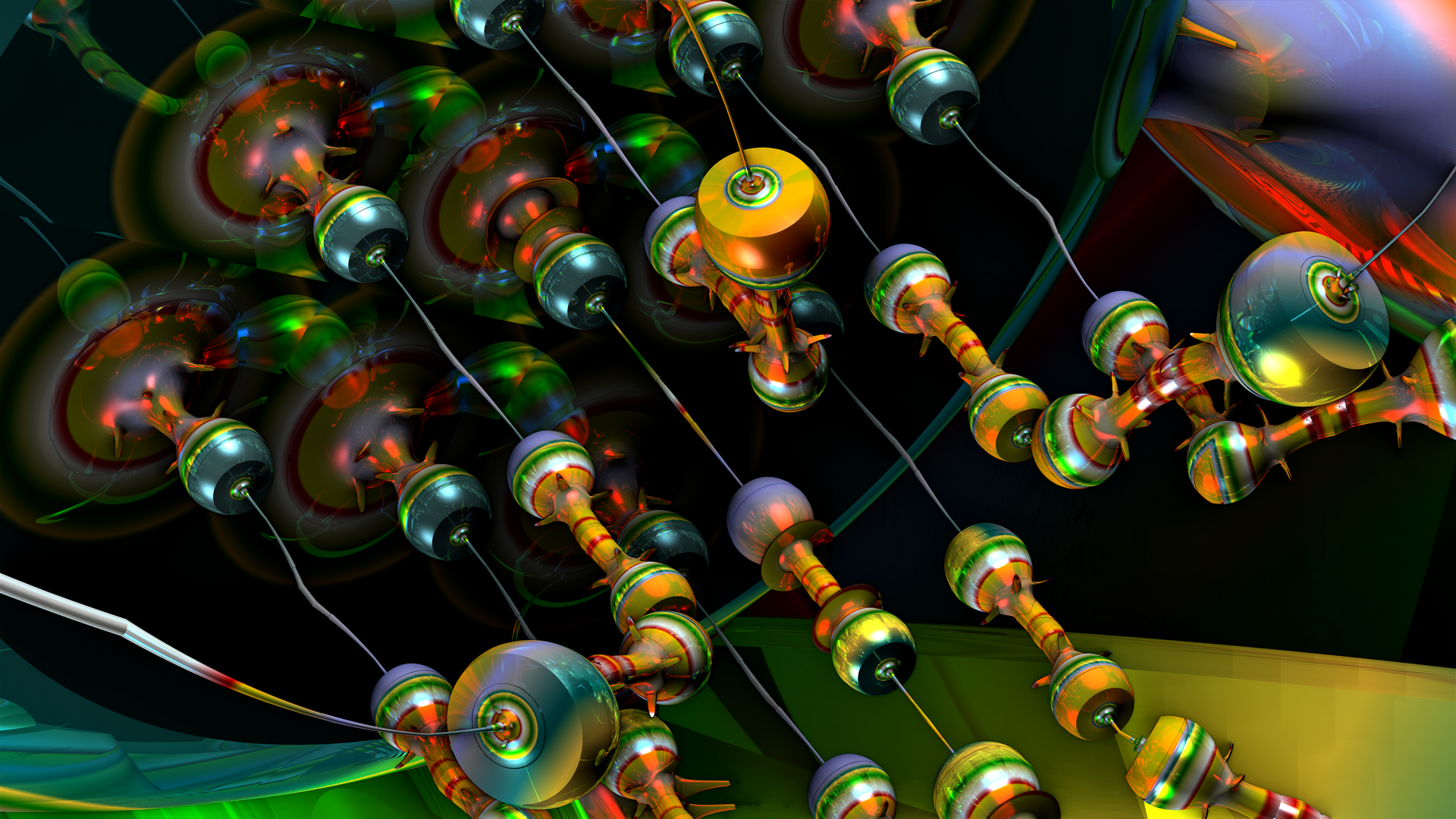 Funky Resistors by GrahamSym