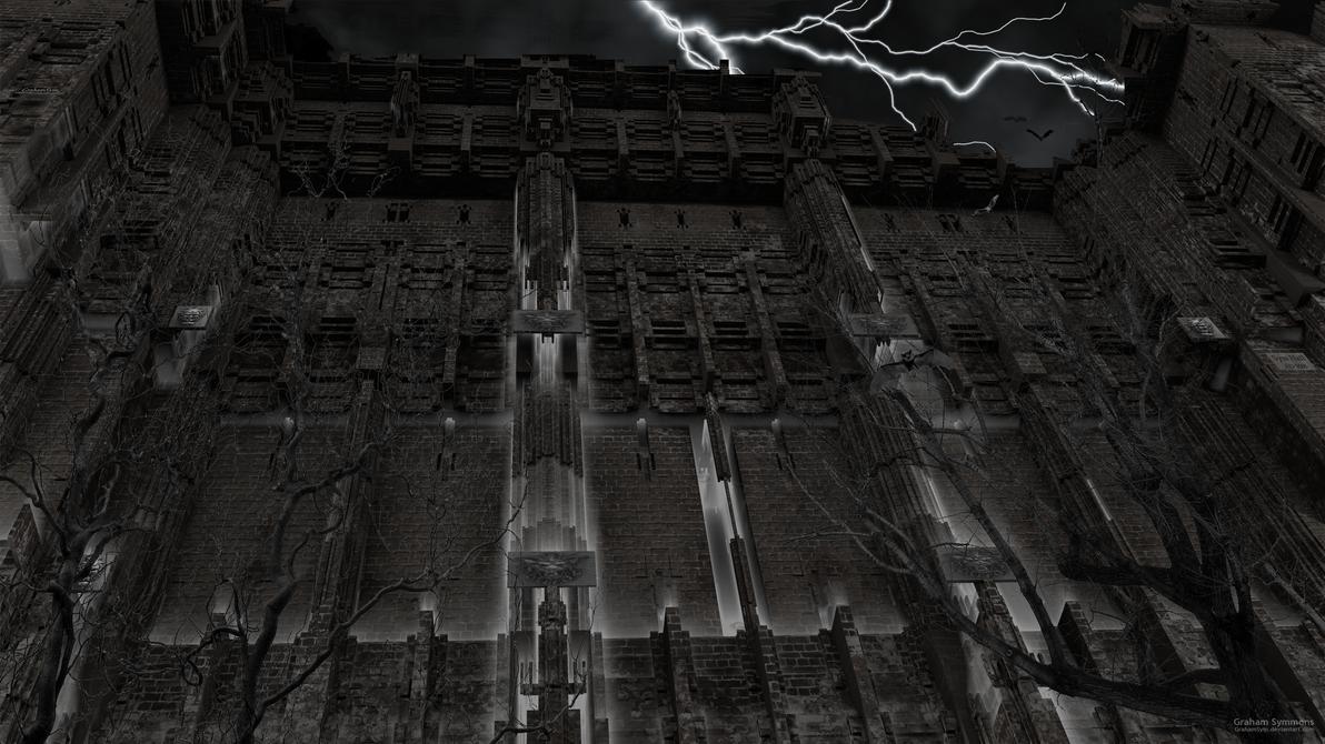 All Hallows Hall by GrahamSym
