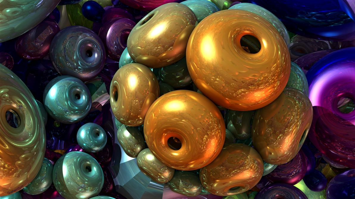 Beaded Bulbs by GrahamSym