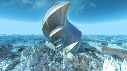 Blot on the Landscape by GrahamSym