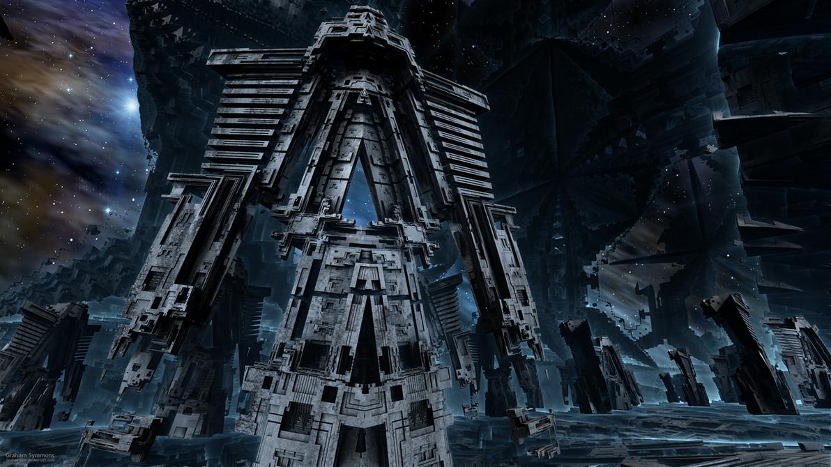 Mandelbot Army by GrahamSym
