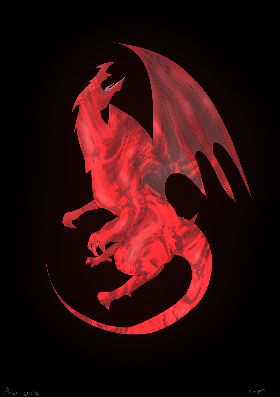 red fire dragon - photo #11