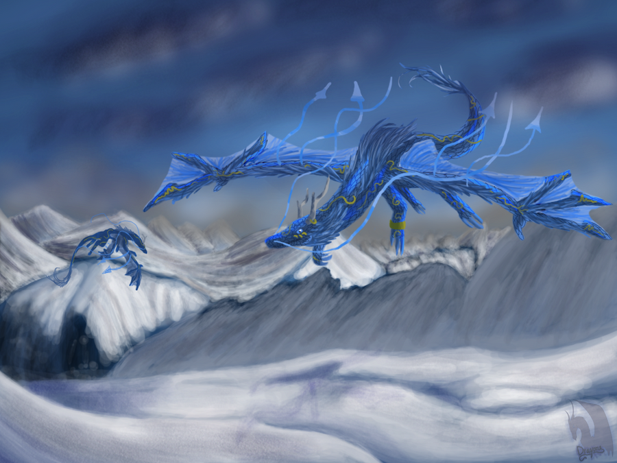Season Dragons Winter By Dragoma On DeviantArt