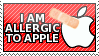 I am allergic to Apple by TheAvatarMaker