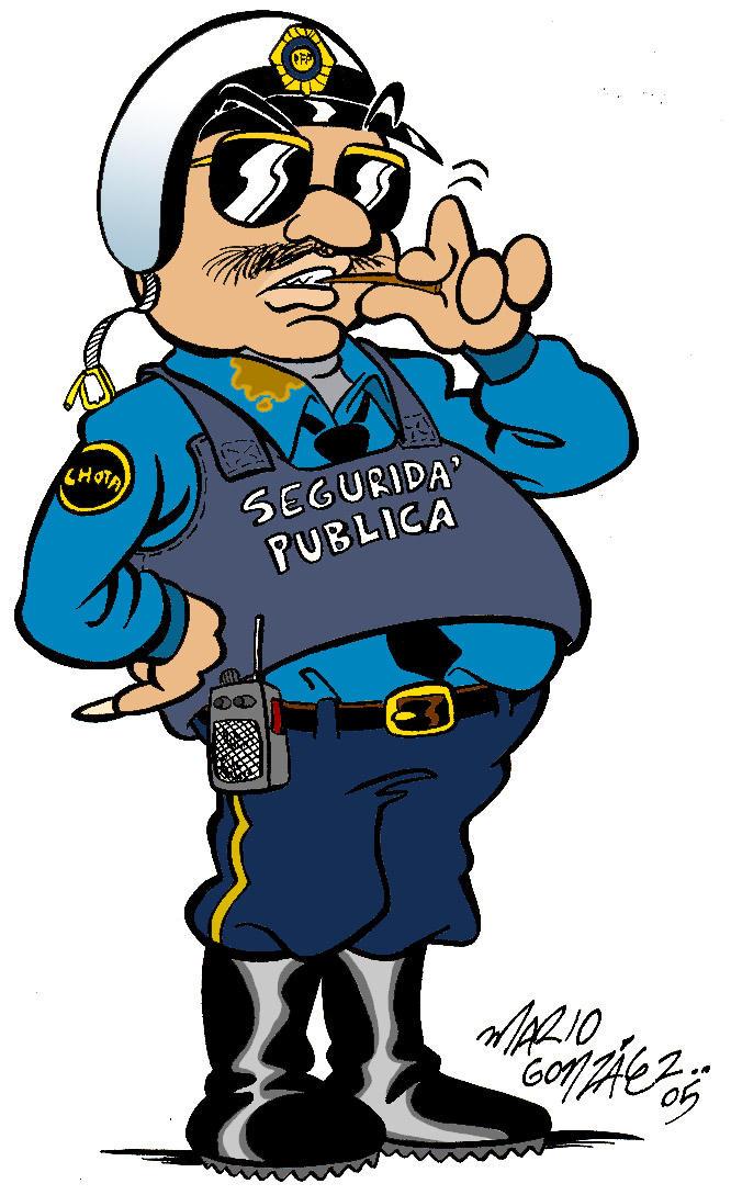 Imagenes de caricaturas de policias - Imagui