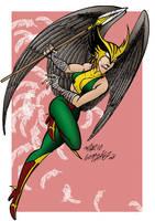 Hawkgirl by Zorgia