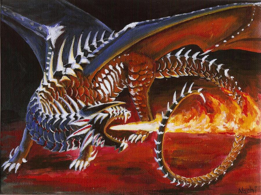 Fire Dragon by Nachiii