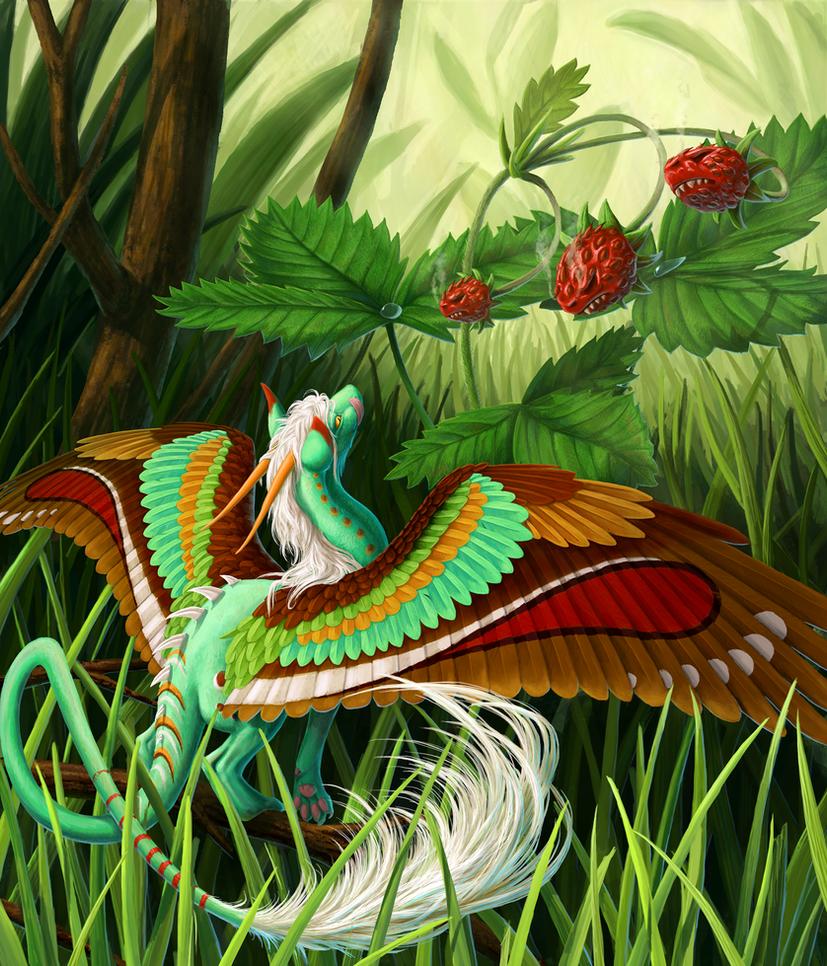 Dragon Strawberry by Nachiii