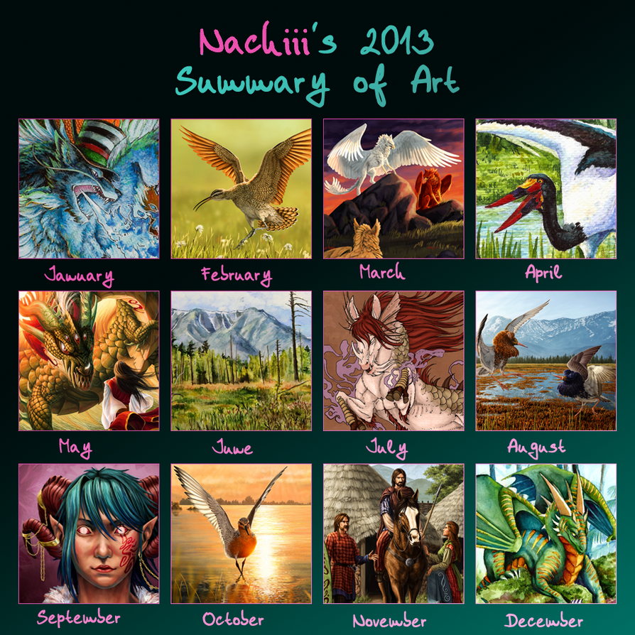 Art Summary 2013 by Nachiii