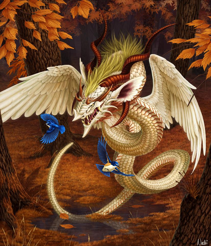 Heavenly Serpent by Nachiii
