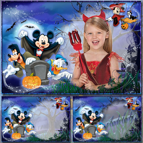 f616bd17bc0e Children's Frames with heroes of Disney, Halloween by vladvlad7 on ...