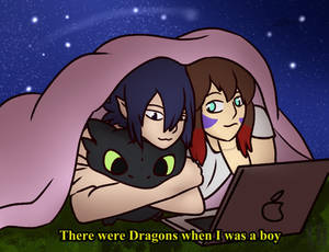 There were Dragons when I was a boy