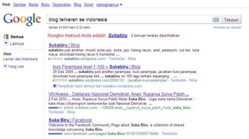 Sukabiru on google by cyanohumanos