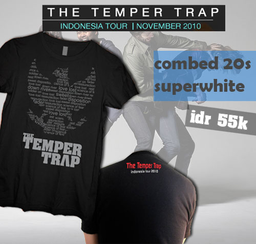 The Temper Trap Shirt by cyanohumanos