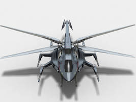 GroundAttack Ornithopter front by knowonenose