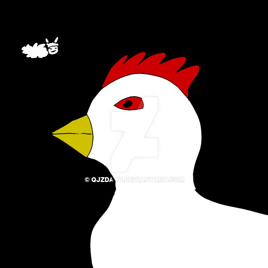 Inktober 2018 - Chicken by qjzdavf