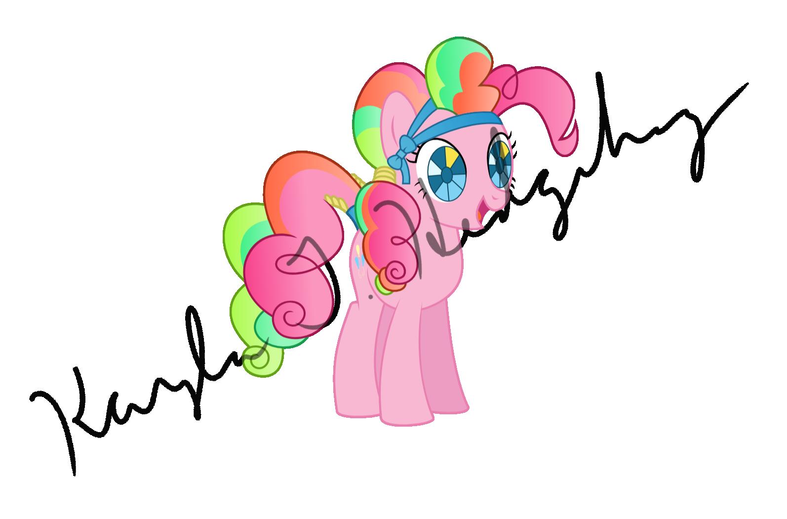 Crystal Empire Pinkie Pie by kaylathehedgehog