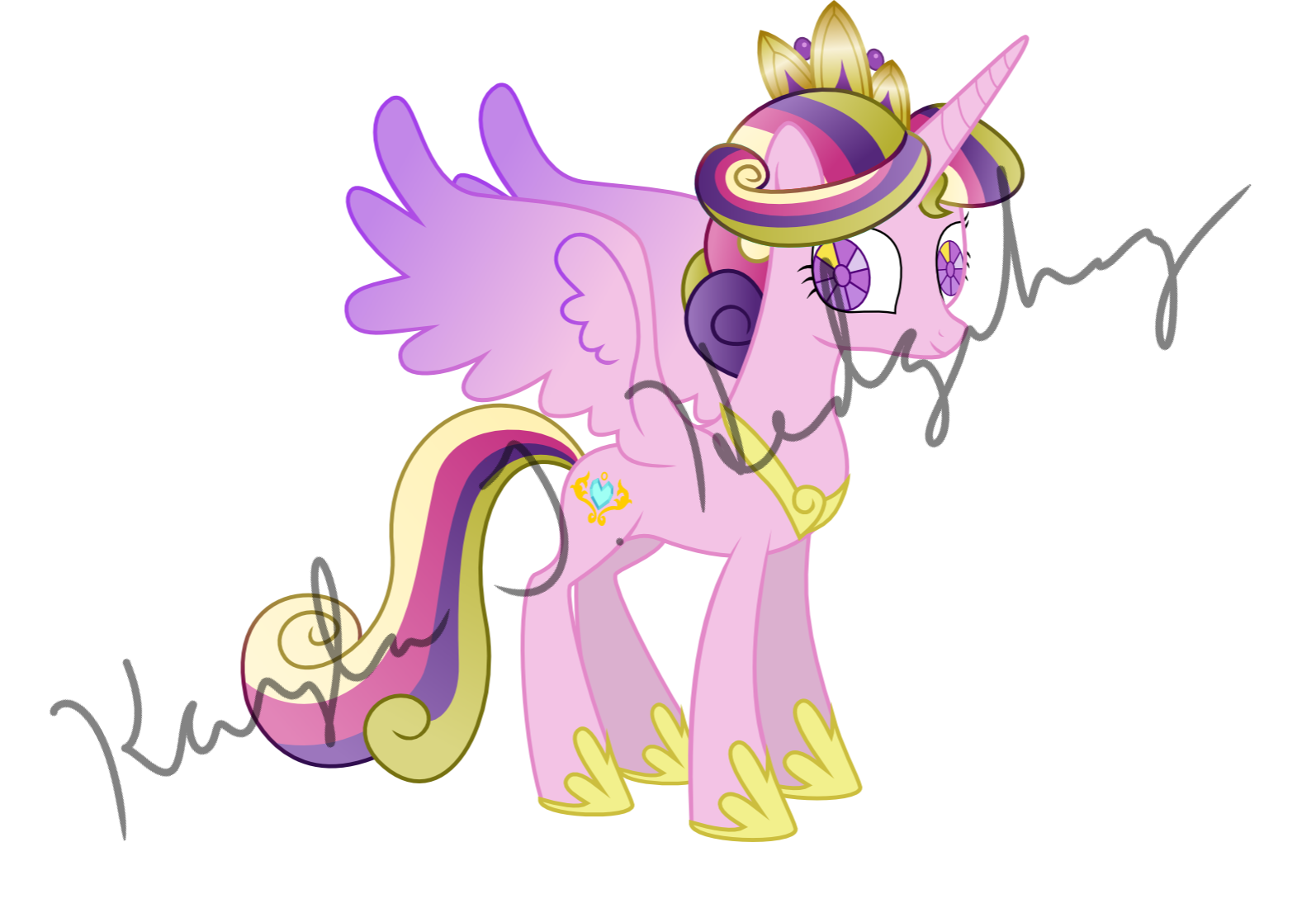 Crystal Empire Princess Cadance by kaylathehedgehog