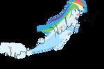 Mermaid Rainbow Dash