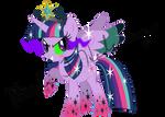 Rainbow Power Princess Twivine Sparkle