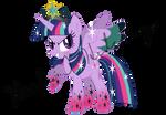 Rainbow Power Princess Twivine Sparkle (Alt)