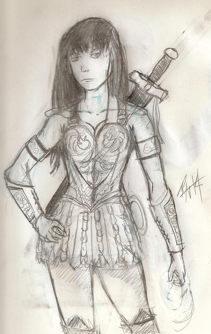 The Warrior Princess by PenPencil2