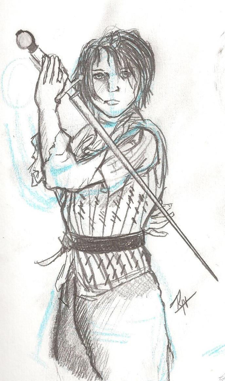 Arya Stark Character Practice by Aiaran
