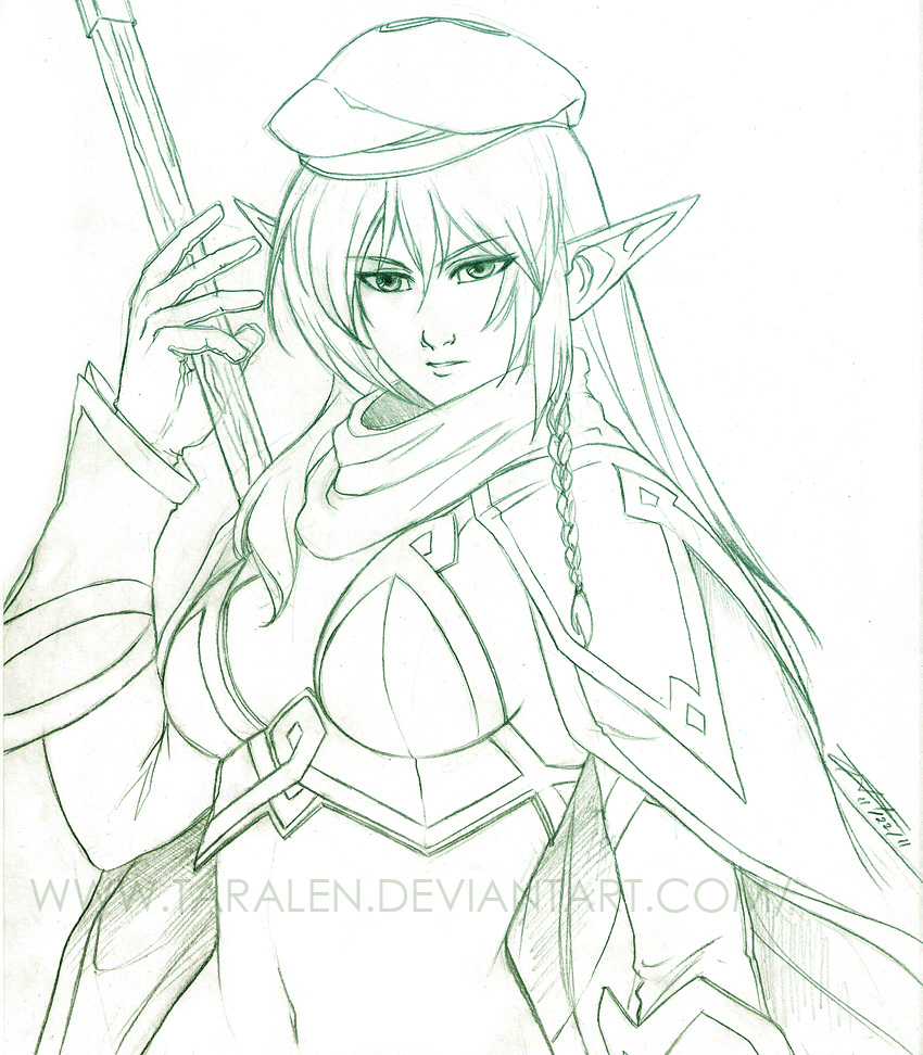 Alleyne the Forest Elf