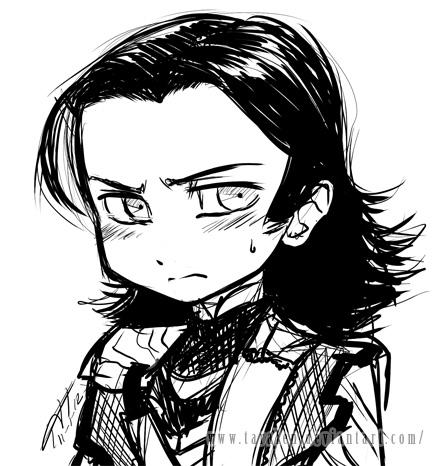 chibi Loki doodle by Taralen