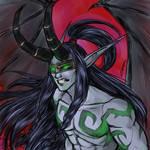 Illidan Warcraft III ver