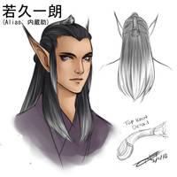 Ichirou Concept Art 1 by Taralen