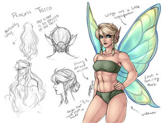 Terra Concepts 1 - Head Crushing Thighs by Taralen