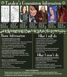 Commission Information 2018 by Taralen