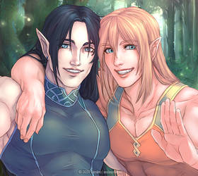 :GIFT: Selfie from Another World