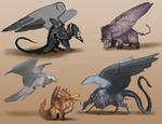 Gryphon Doodles