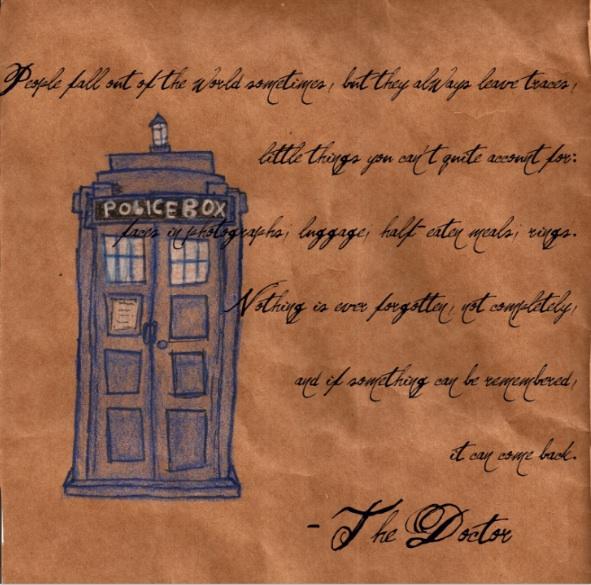 TARDIS Wallpaper by Bellaminion