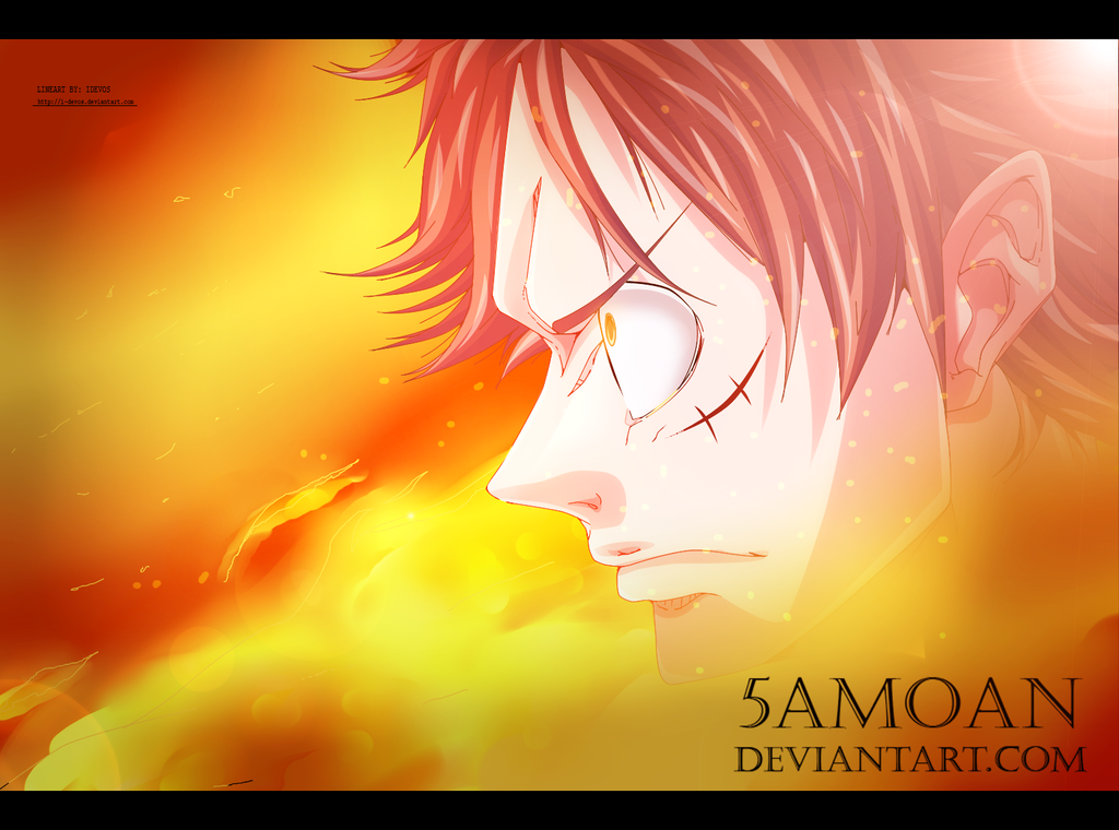 Badass Luffy! by 5amoan