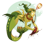 Wannabe Viperfish Mermaid