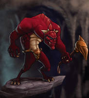 Demon Brute Concept by umbrafox